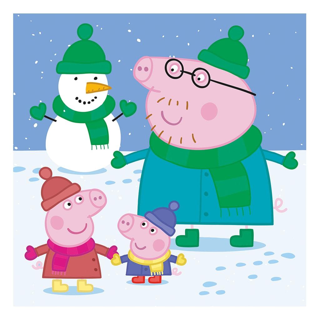 c3e4d59c5 Puzzle Peppa Pig: Veselé odpoledne 3 x 55 | Dino | Spoločenské ...
