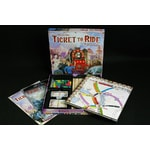 Ticket to Ride - mapy Asie