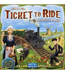 Produkt Ticket to Ride - Mapa Nizozemska