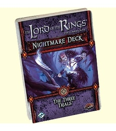 Produkt The LOTR: LCG -The Three Trials - Nightmare deck