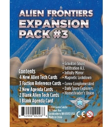 Produkt Alien Frontiers: Expansion Pack 3