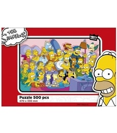 Produkt Puzzle The Simpsons 500d