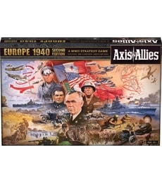 Produkt Axis & Allies: Europe 1940 - Second Edition (poškozený obal)