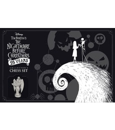 Produkt Tim Burton's Nightmare Before Christmas 25 Years - Collector's Chess Set