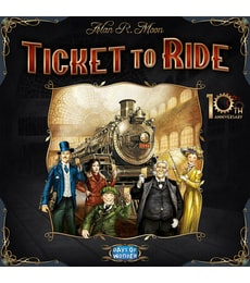 Produkt Ticket to Ride - 10th Anniversary Edition
