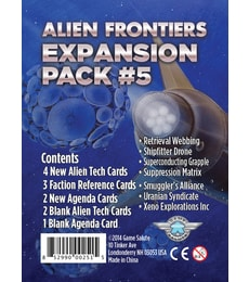 Produkt Alien Frontiers: Expansion Pack 5