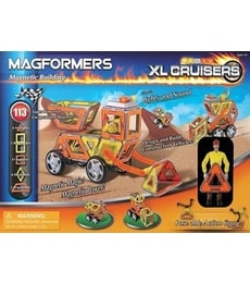 Produkt Magformers XL Cruisers Stavební auto