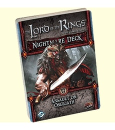 Produkt The LOTR: LCG - Assault on Osgiliath Nightmare decks