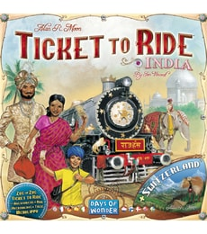 Produkt Ticket to Ride - Mapy Indie a Švýcarsko