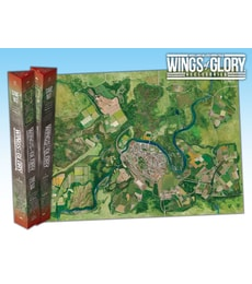 Produkt Wings of Glory: herní podložka City