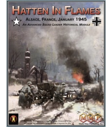 Produkt Hatten in Flames: Alsace, France, January 1945 - An Advanced Squad Leader Historical Module