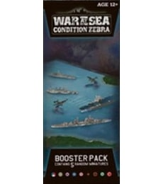 Produkt War at Sea: Condition Zebra - Booster Pack