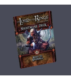 Produkt The LOTR: LCG - Road to Rivendell Nightmare Pack