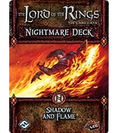 Produkt The LOTR: LCG - Shadow and Flame Nightmare deck