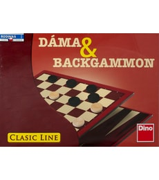 Produkt Dáma & Backgammon