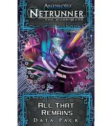 Produkt Netrunner: All that Remains Data Pack
