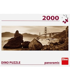 Produkt Puzzle Pohled na Golden Gate 2000d panorama