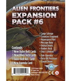Produkt Alien Frontiers: Expansion Pack 6