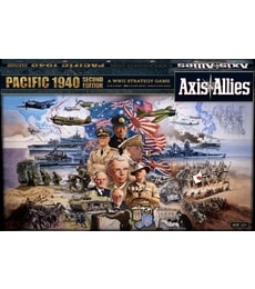 Produkt Axis & Allies: Pacific 1940 - Second Edition (poškozený obal)