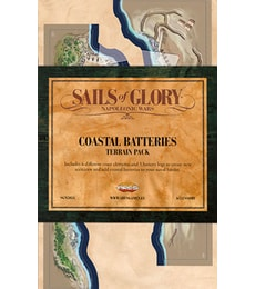 Produkt Sails of Glory: Coastal Batteries Terrain Pack