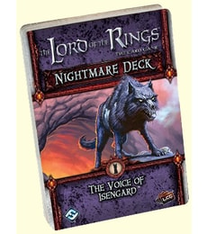 Produkt The LOTR: LCG - Voice of Isengard - Nightmare deck