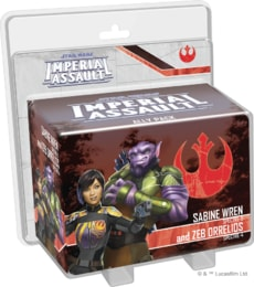 Produkt Imperial Assault Ally Pack: Sabine Wren and Zeb Orrelios