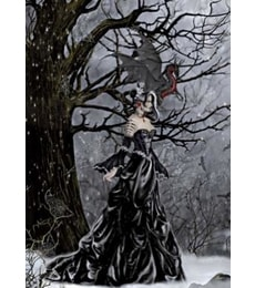 Produkt Puzzle Queen of Darkness 1000d