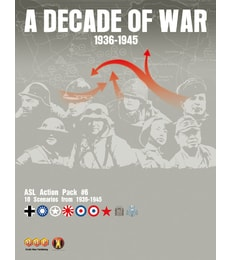 Produkt ASL Action Pack 06: A Decade of War