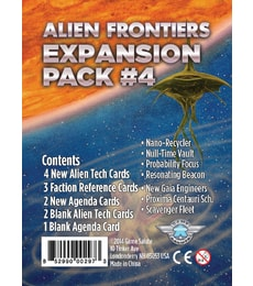 Produkt Alien Frontiers: Expansion Pack 4