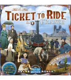 Produkt Ticket to Ride: France & Old West