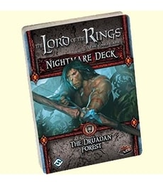 Produkt The LOTR: LCG - The Druadan Forest - Nightmare Deck