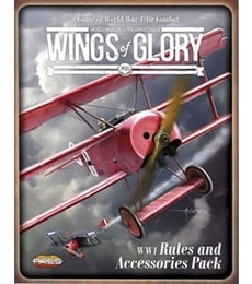 Produkt Wings of Glory: WW1 Rules Pack + 4 letadla