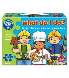 Produkt Puzzle Čím budu (What do I do?)
