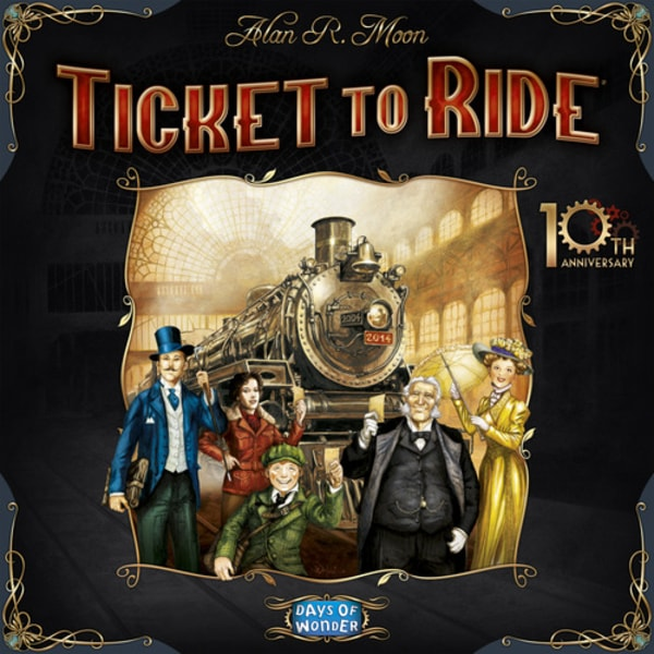 Ticket to Ride - 10th Anniversary Edition