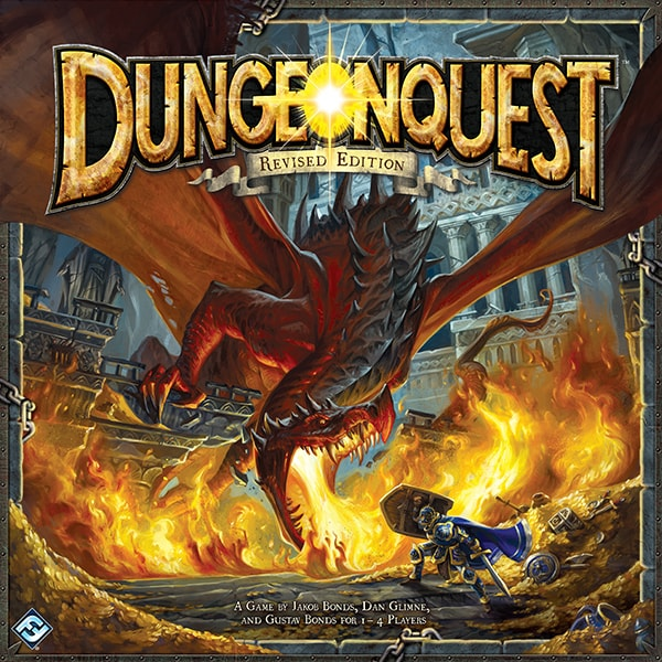 DungeonQuest - fourth edition
