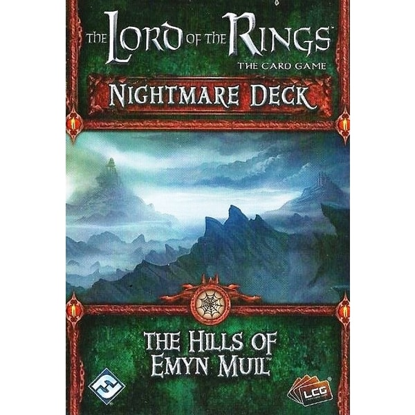 The LOTR: LCG - The Hills of Emyn Muil Nightmare Deck