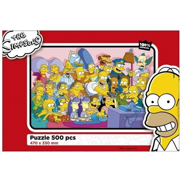 Puzzle The Simpsons 500d