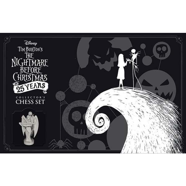Tim Burton's Nightmare Before Christmas 25 Years - Collector's Chess Set