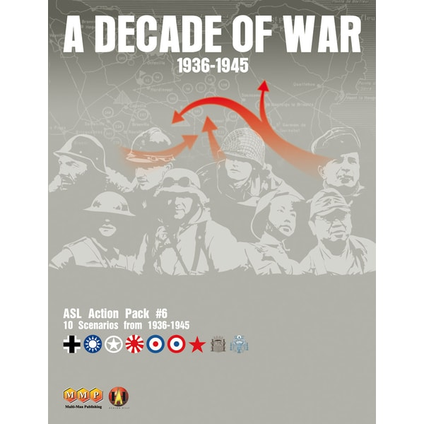 ASL Action Pack 06: A Decade of War