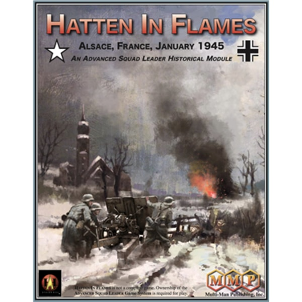 Hatten in Flames: Alsace, France, January 1945 - An Advanced Squad Leader Historical Module