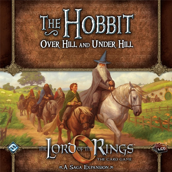 The LOTR: The Hobbit: Over Hill and Under Hill
