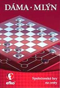 4fee7fe7418 Dáma a Mlýn - společenská hra na cesty